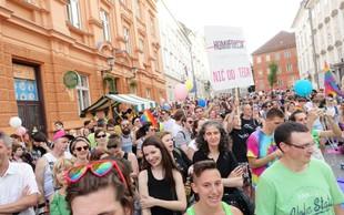V Ljubljani bo danes že 17. parada ponosa