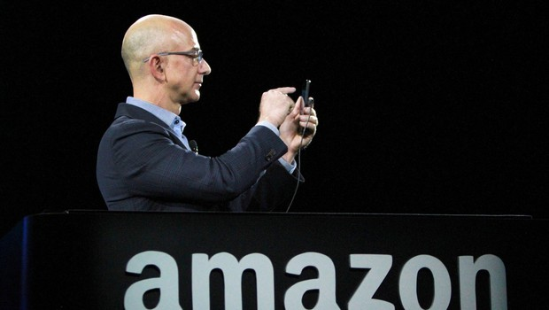 Ustanovitelj Amazona Jeff Bezos na prvem mestu lestvice najbogatejših Američanov (foto: profimedia)