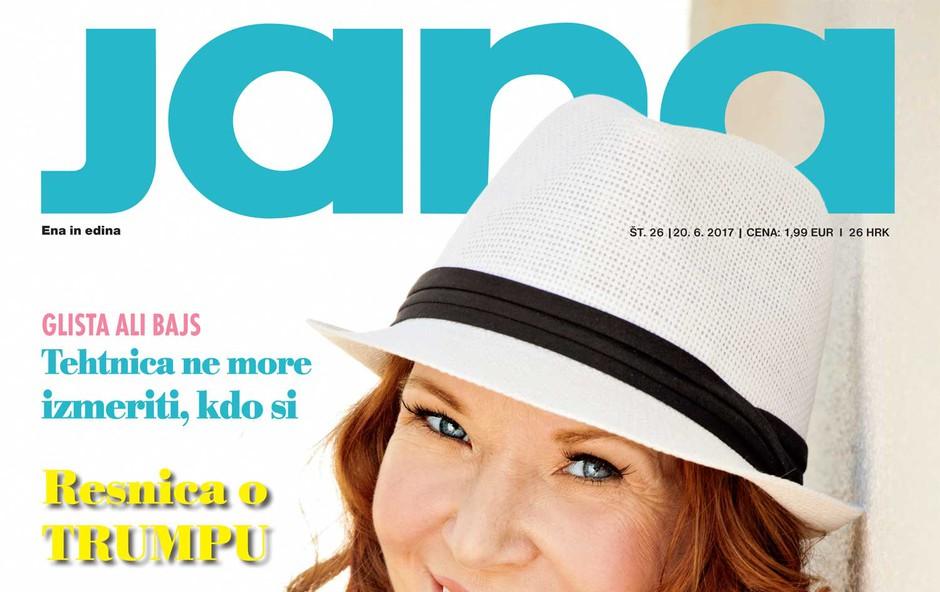 Regina, pevka: Vse se vrti zaradi ljubezni. Več v novi Jani! (foto: Jana)
