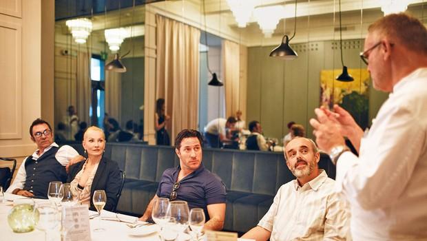 Teden nezavžene hrane: Znani Slovenci na večerji v restavraciji JB (foto: Primož Bregar)