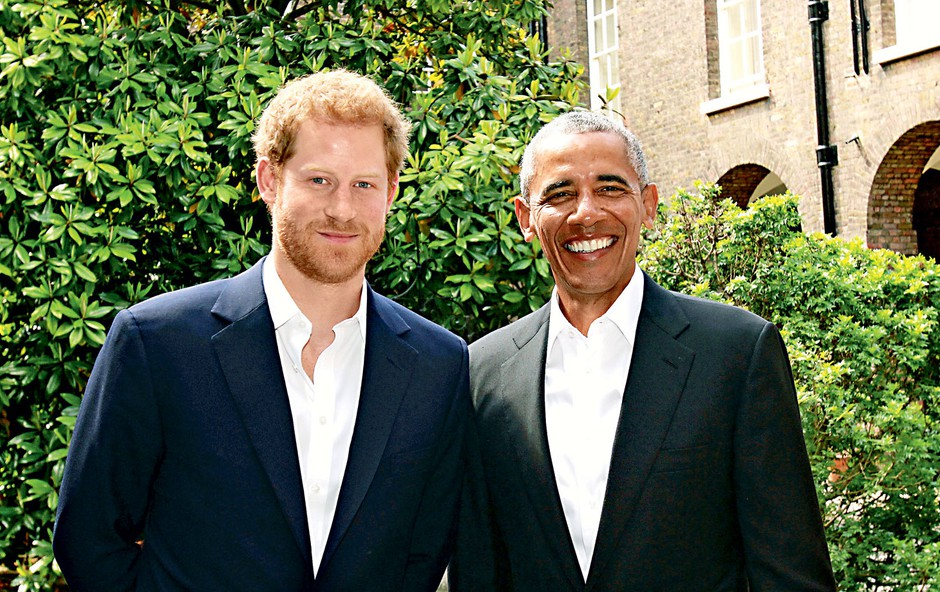 Princ Harry se je srečal z Obamo (foto: Profimedia)