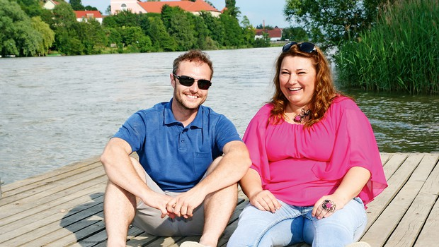 Urška Vučak Markež in Jernej Brenholc: Tudi po šovu bova ohranila stik (foto: MIMA, Miro Majcen/POP TV)