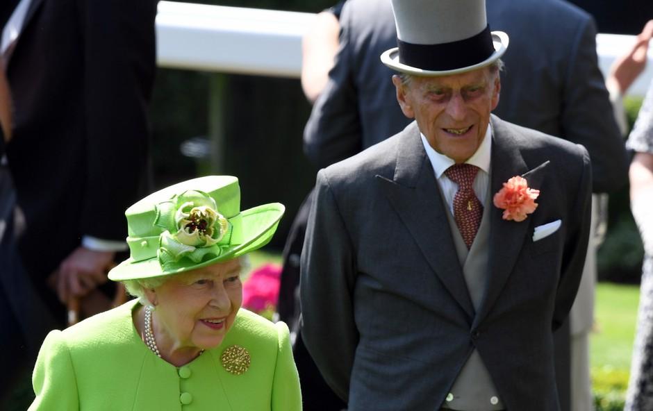 Britanskega princa Philipa zaradi infekcije sprejeli v bolnišnico (foto: profimedia)