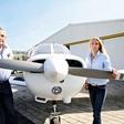 Kako postati športna pilotka: Z Matejo Kos med oblake