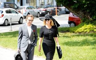 Helena Blagne namesto na sodišče odletela v Beograd