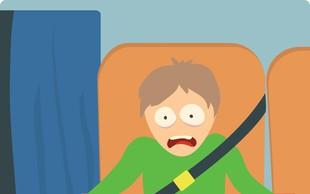 7 korakov za premagovanje strahu pred letenjem