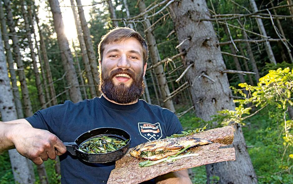 """Filip Flisar: """"Sem rojen gozdni človek"""" (foto: Brane T. Červek)"""