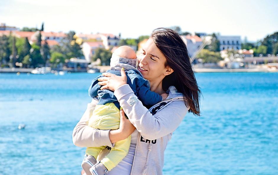 Nataša Gavranić: Prvi družinski oddih na morju (foto: osebni arhiv)