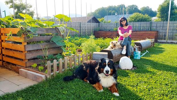 Nataša Bešter svetuje o bučah: Lahko bi jih jedla vse poletje (foto: osebni arhiv)