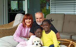 Družina Maje Štamol Droljc: Iz Afrike na morje in v hribe