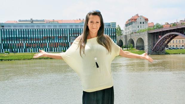 Sandra se je v  okviru startup podjetja osredotočila na nov projekt. (foto: osebni arhiv, MIMA)