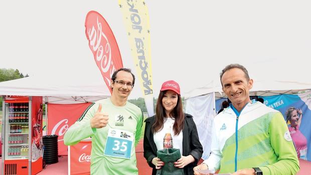 """Olimpijec Roman Kejžar: """"Tek je način življenja"""" (foto: CocaCola)"""