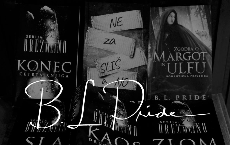 Skrivnostni duo B. L. Pride prireja nagradni lov na knjige! (foto: Promo B.L. Pride)