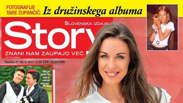 Tara Zupančič: Pogrešala je očetovsko figuro. Več v novi Story! (foto: Story)