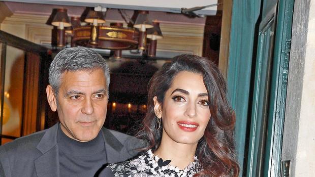 George Clooney bo zaradi fotografij dvojčkov tožil francoski tabloid (foto: Profimedia)