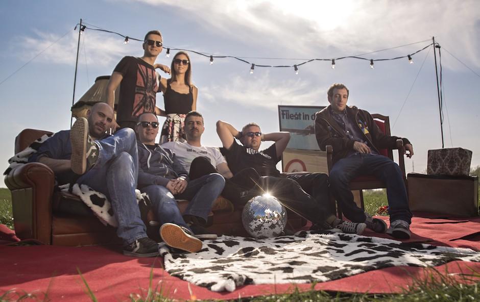 Vse je pripravljeno za največji dobrodelni rokerski festival GorA RockA! (foto: S.A.R.S. press)