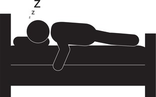 Kaj razkriva vaš spalni položaj? Preverite!