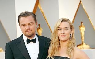 Leonardo DiCaprio in Kate Winslet 20 let po Titaniku: Prijatelja za vedno!