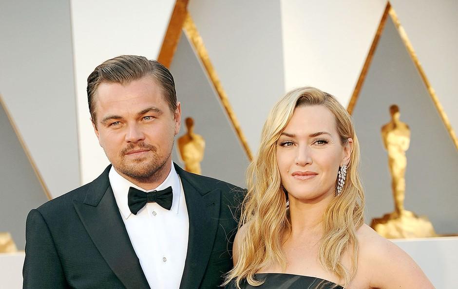 Leonardo DiCaprio in Kate Winslet 20 let po Titaniku: Prijatelja za vedno! (foto: Profimedia)