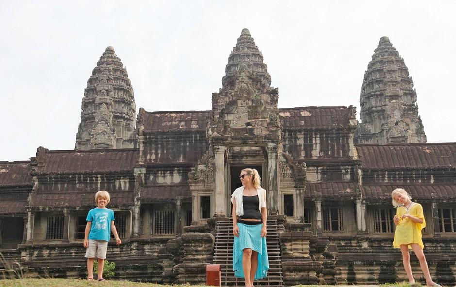 Anuška Cerovšek Beltram: Družinsko odkrivanje Tajske in Kambodže (foto: osebni arhiv)