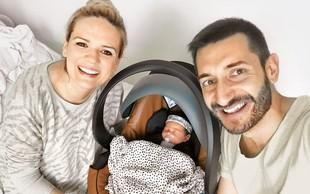 Dragan in Aida Gajić drugič starša: Mia je na svet prijokala v dobri uri