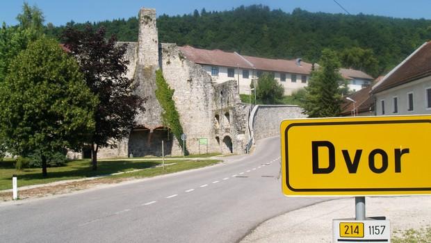 Obnove bo deležna tudi Auerspergova železolivarna na Dvoru. (foto: Slavko Mirtič)