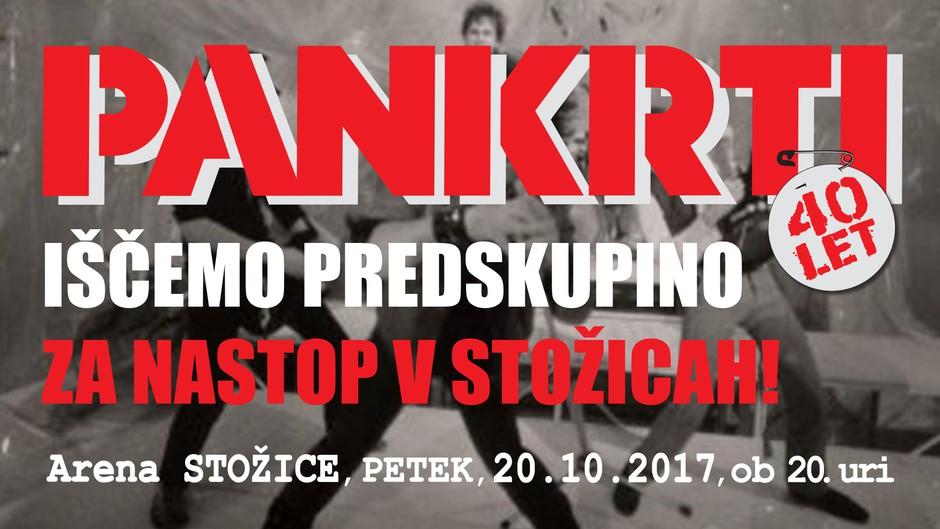 Pankrti iščejo predskupino za nastop v Stožicah! (foto: Pankrti Press)