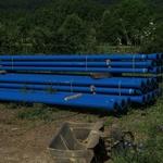 Za glavni Suhokranjski vodovod bodo potrebovali več kot 152 kilometrov cevi. (foto: Slavko Mirtič)