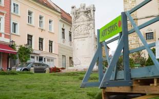 Turistično umetniški projekt ozelenil najstarejše slovensko mesto!