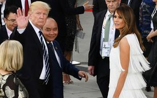 Prva dama Melania Trump je bolj priljubljena od predsednika ZDA