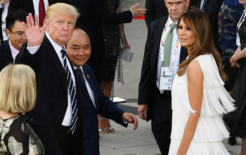 Prva dama Melania Trump je bolj priljubljena od predsednika ZDA (foto: profimedia)