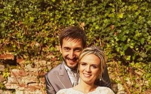 Aida in Dragan Gajić srečna s prvorojenko Mio