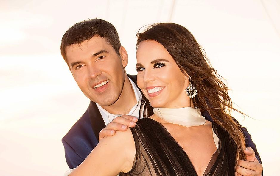 Lorella Flego in Mario Galunič: Že devetič skupaj na odru festivala MMS (foto: Žiga Culiberg)