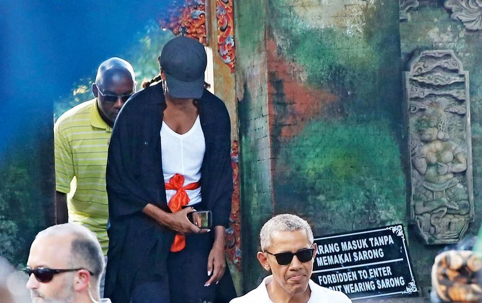 Barack Obama z družno obiskal Indonezijo (foto: Profimedia)