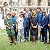 Nogomet je v Italiji zelo pomemben, zato niti ni tako nenavadno, da so Italijani paru želeli pokazati tudi t. i. nogometno kliniko  v Milanu.