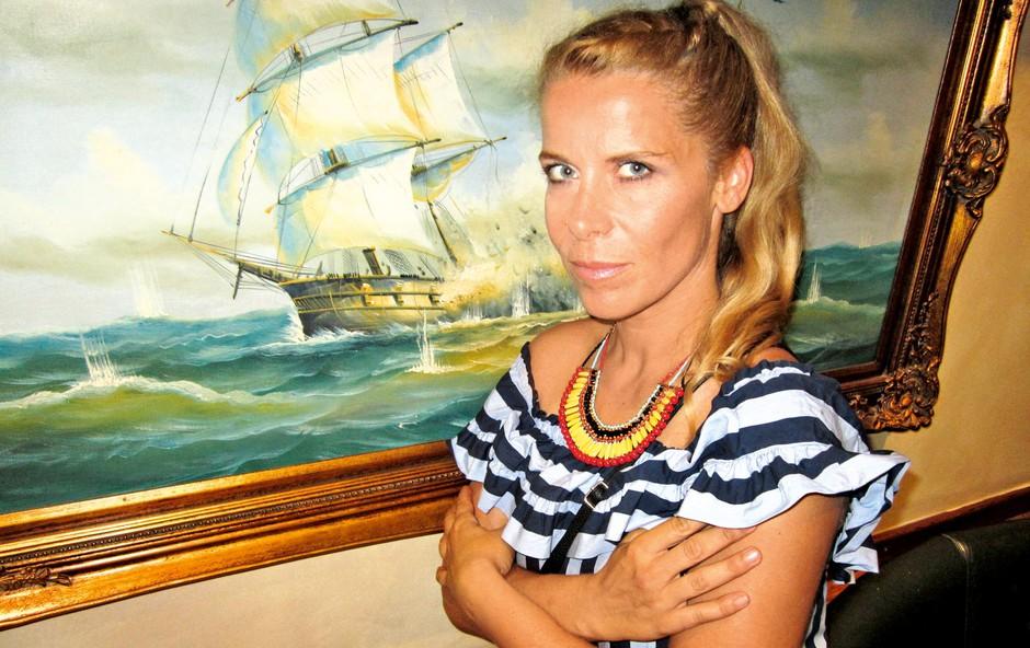 Anika Horvat o vrnitvi na MMS in materinstvu (foto: Alpe)