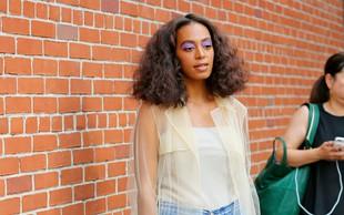 Solange Knowles na ulični modni brvi: Igriva in odštekana