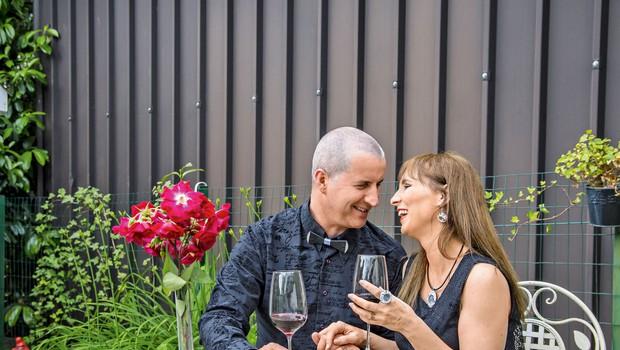 Tamara Fortuna in DJ Sylvain praznovala 10 let ljubezni (foto: Nives Brelih)
