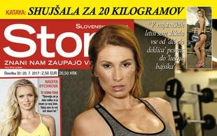 Kataya: Shujšala za 20 kilogramov! Več v novi Story!