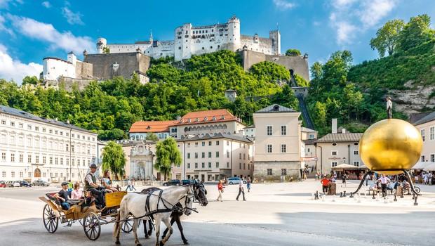 Ideja za vikend izlet: Potep po Salzburgu (foto: Shutterstock, Petra Arula)