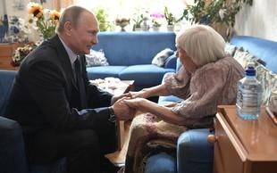 Putin obiskal borko za človekove pravice ob 90. rojstnem dnevu
