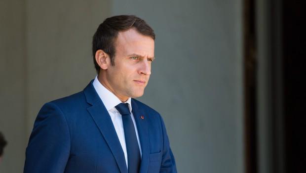 Francoski predsednik Macron se je z nekaterimi potezami že zameril mnogim (foto: profimedia)
