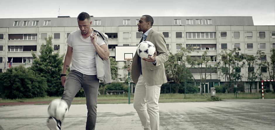 Nogometni legendi v največji stavi tega poletja (foto: Laško PRESS)