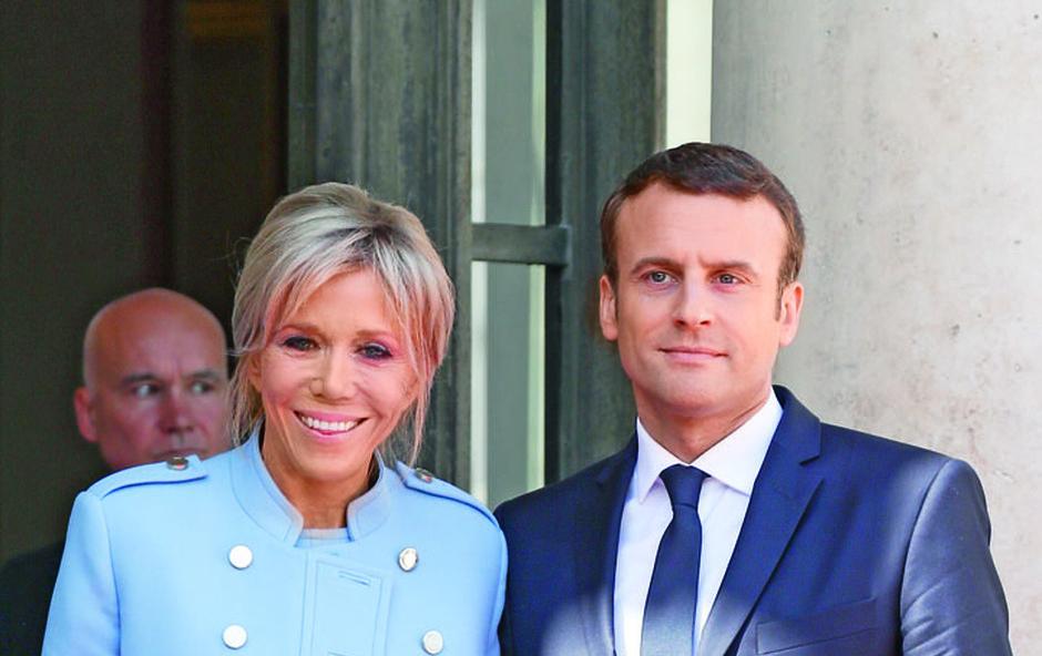 Brigitte Macron bo vlogo prve dame prevzela neformalno (foto: Profimedia)