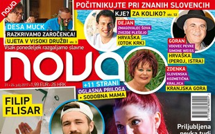 Tanja Žagar - ekskluzivni intervju z bujno nosečko! Več v novi Novi!