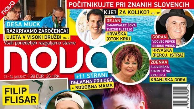 Tanja Žagar - ekskluzivni intervju z bujno nosečko! Več v novi Novi! (foto: Nova)