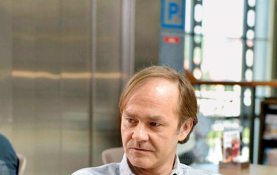 Jure Ivanušič: Nova vloga v slovenskem celovečercu (foto: Marko Pigac)