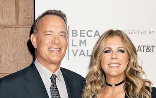 Tom Hanks in njegova soproga sta okužena s koronavirusom
