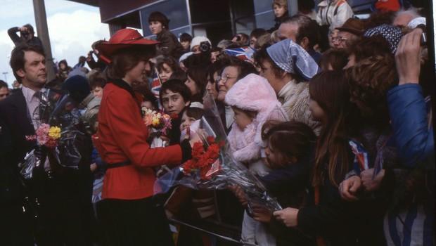 Diana: z njenimi lastnimi besedami (foto: Anwar Hussein, National Geographic)