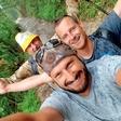 Jernej Tozon na jadranju s prijatelji
